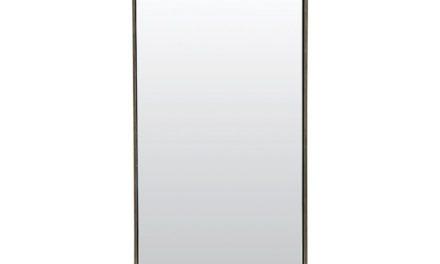 HOUSE DOCTOR Reflektion Spejl med mat sort ramme