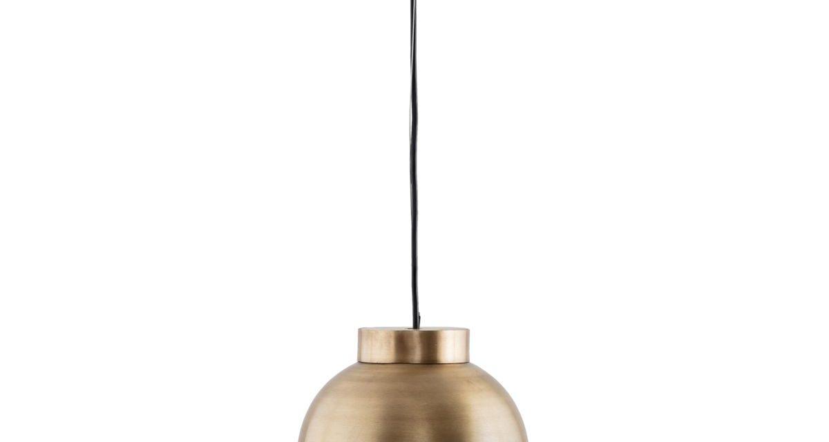 Messing Rund loftslampe fra House Doctor til boligen