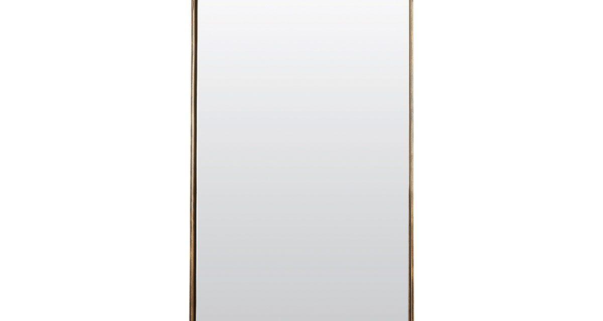 HOUSE DOCTOR Reflektion Spejl med messing belagt ramme