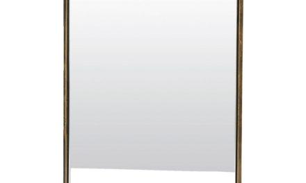 HOUSE DOCTOR Reflektion Lille spejl med messing belagt ramme