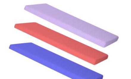 MANIS-H Børnemadras (200×90) Blå