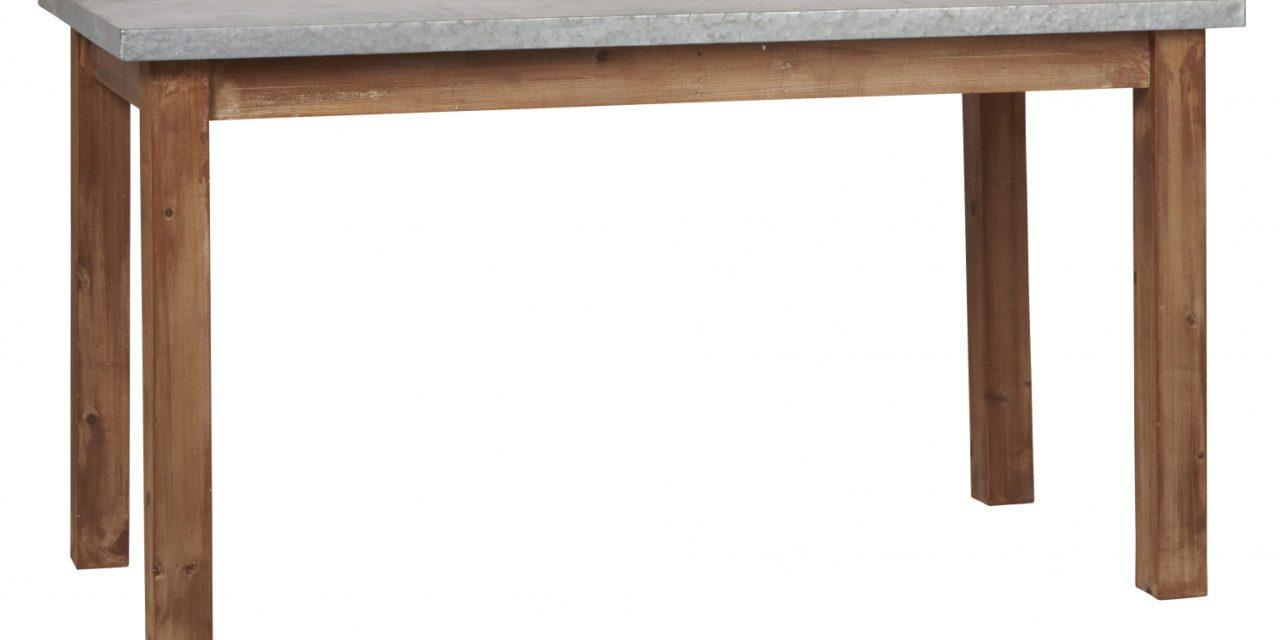 IB LAURSEN bord med zink top
