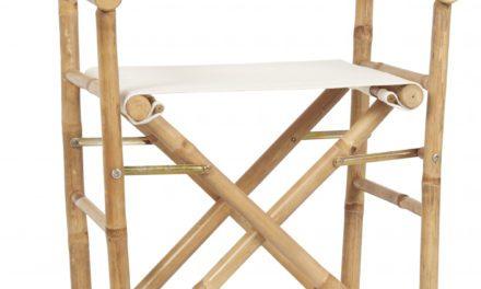 IB LAURSEN instruktørstol af bambus