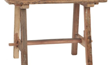 "IB LAURSEN Lille ""Unika"" bord, genbrugstræ"