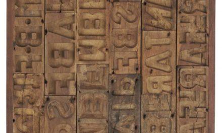 """IB LAURSEN """"Unika"""" vægdekoration, genbrugstræ"""
