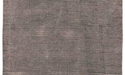IB LAURSEN Malva gulvløber, rosa/sort bomuld