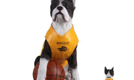 KARE DESIGN Sparebøsse Basketball Dog