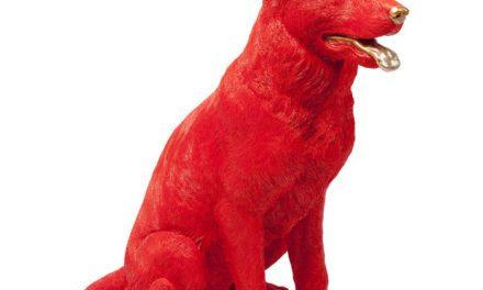KARE DESIGN Sparebøsse Shepard Rød