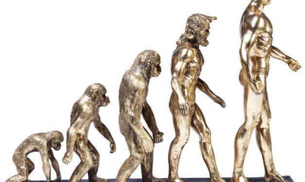Polyresin Evolution Figur fra Kare Design til dit hjem