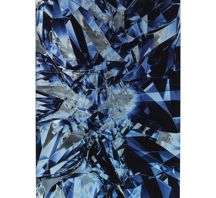 KARE DESIGN Billede, Glass Diamonds 80 x 120 cm