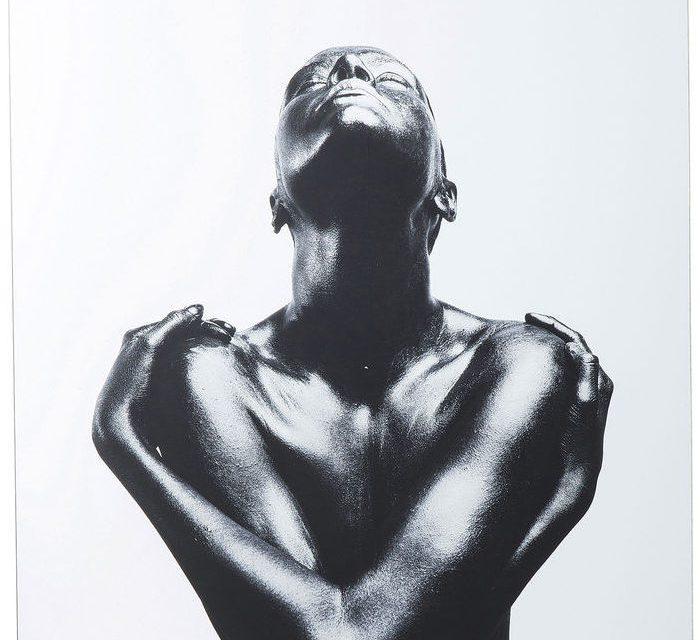 KARE DESIGN Billede, Glass Athlet 120 x 120 cm