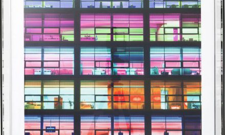 KARE DESIGN Billede, Mirror Frame Office Pink 80 x 80 cm