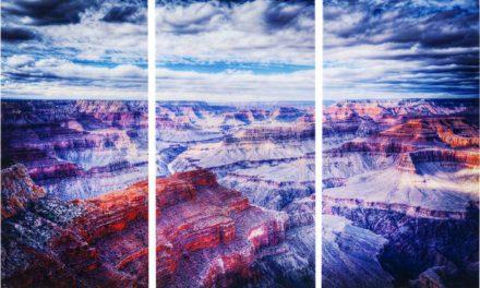 KARE DESIGN Billede, Glass Triptychon Grand Canyon 160 x 240 cm (3/