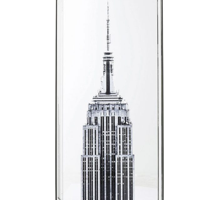 KARE DESIGN Billede, Mirror Empire State Building 120 x 60 cm