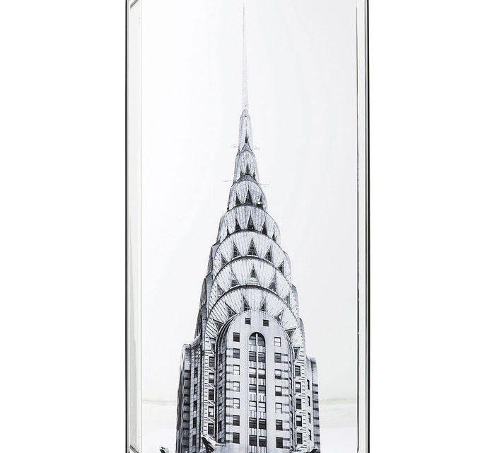 KARE DESIGN Billede, Mirror Chrysler Building 120 x 60 cm