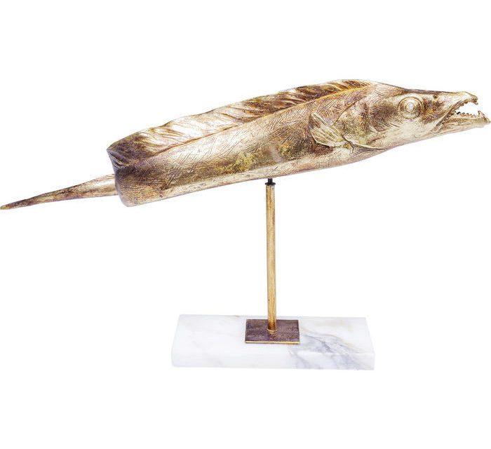 KARE DESIGN Figur, Pescado Guld