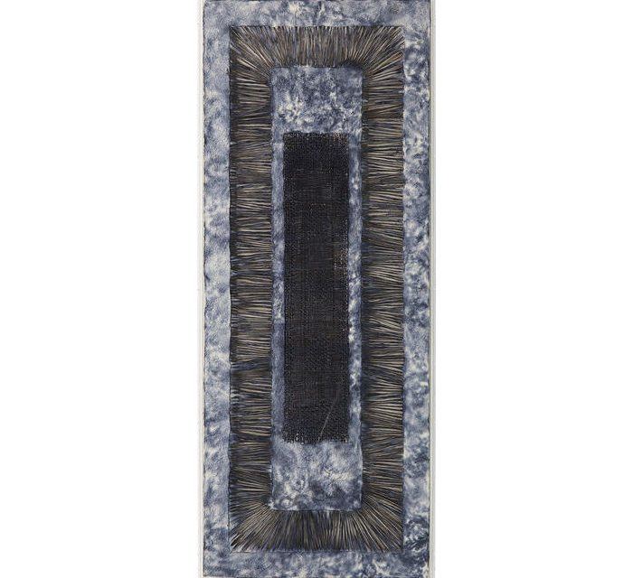 KARE DESIGN Vægdekoration, Frame Blue Magic 60 x 160 cm