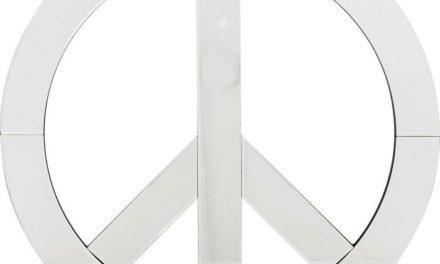KARE DESIGN Vægdekoration, Spejl Peace Stor