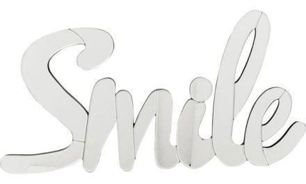 KARE DESIGN Vægdekoration, Spejl Smile Stor