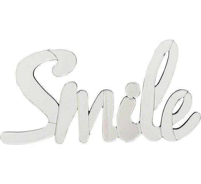 KARE DESIGN Vægdekoration, Spejl Smile Lille