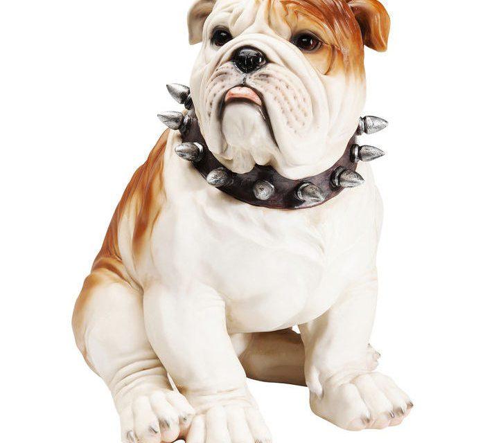 KARE DESIGN Sparebøsse Watching Bulldog