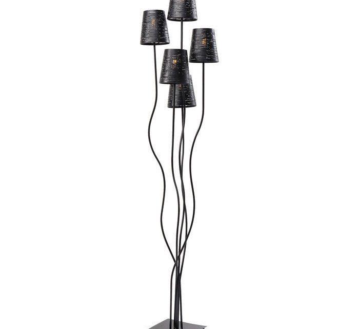 KARE DESIGN Gulvlampe Flexible Black Cinque
