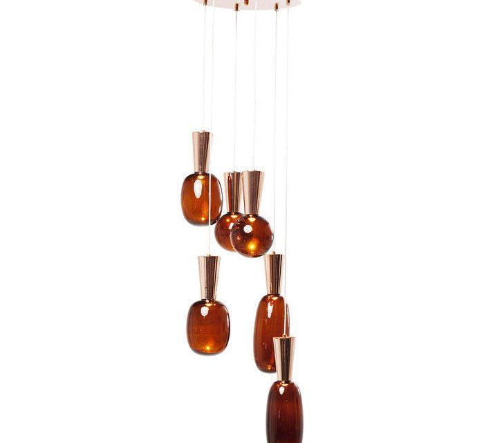 KARE DESIGN Loftlampe, Glass Goccia LED