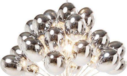 KARE DESIGN Loftslampe, Balloons Sølv