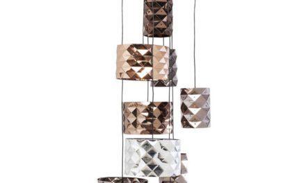 KARE DESIGN Loftslampe, Dancing Queen Triangle Nine