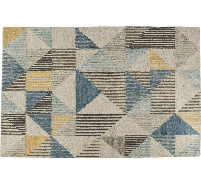KARE DESIGN Gulvtæppe Triangle Stripes 240 x 170 cm