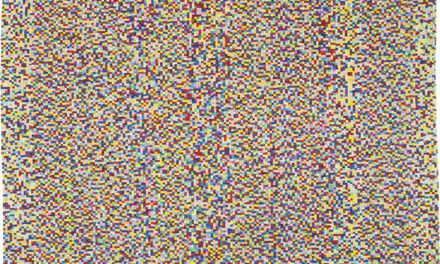 KARE DESIGN Gulvtæppe Pixel Rainbow Multi 170 x 240 cm