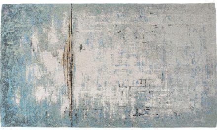KARE DESIGN Gulvtæppe Abstract Blå 240 x 170 cm