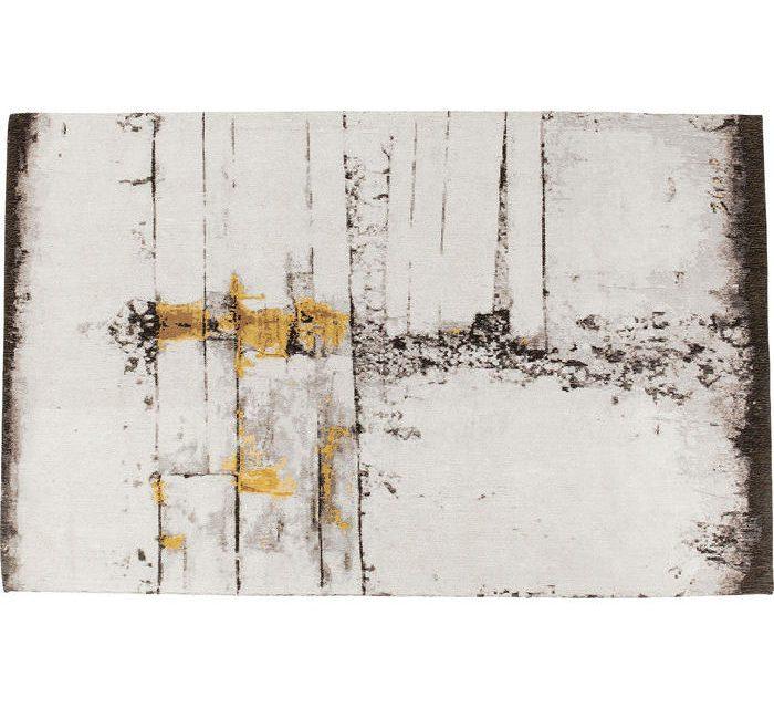 KARE DESIGN Gulvtæppe Abstract Grå Line 240 x 170 cm
