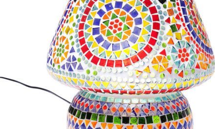 KARE DESIGN Bordlampe, Mosaic Colore 33 cm