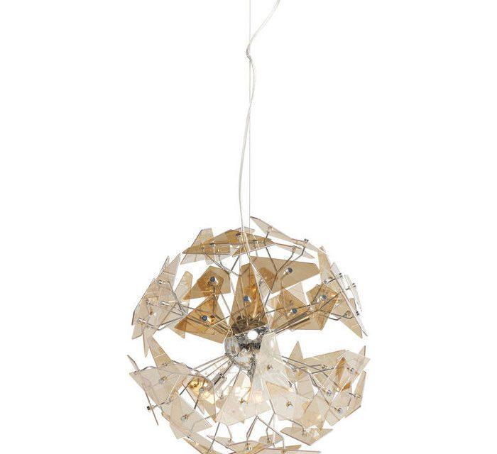 KARE DESIGN Loftslampe Visible Sails Champagne