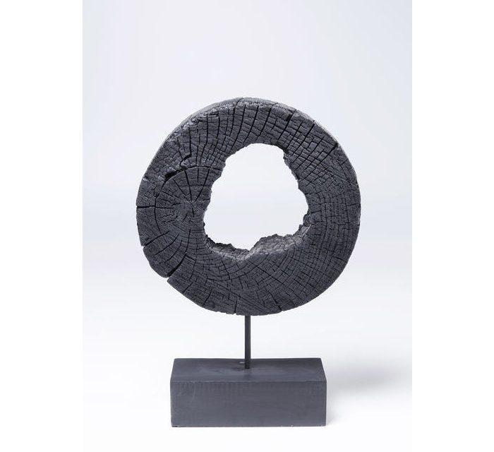 KARE DESIGN Figur Ring Of Fire Sort 53 cm