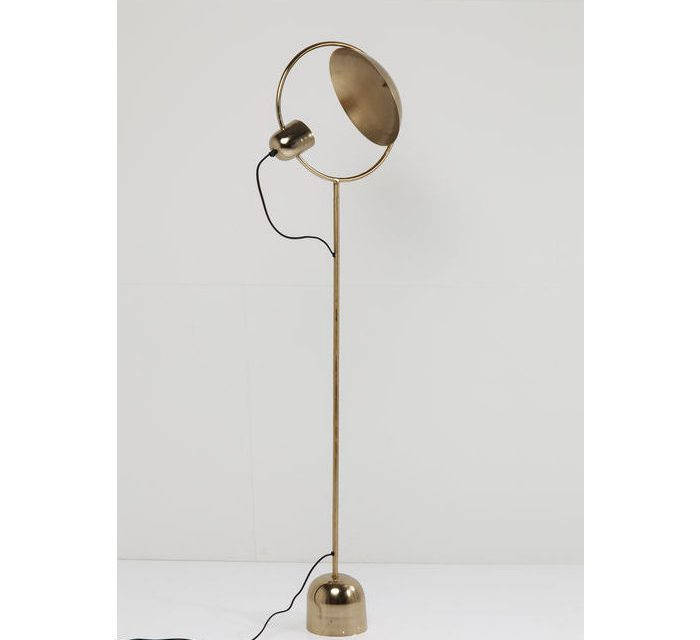 KARE DESIGN Gulvlampe Reflector Messing
