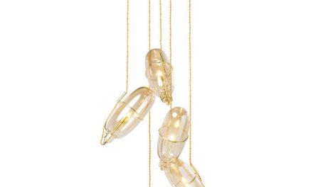 KARE DESIGN Loftlampe Capsule Amber