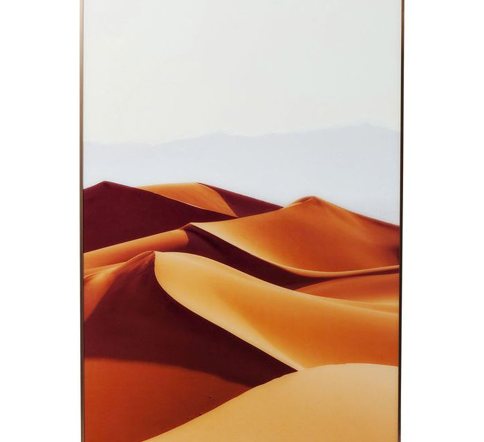 KARE DESIGN Billede, Frame Alu Desert Dunes 80 x 120 cm