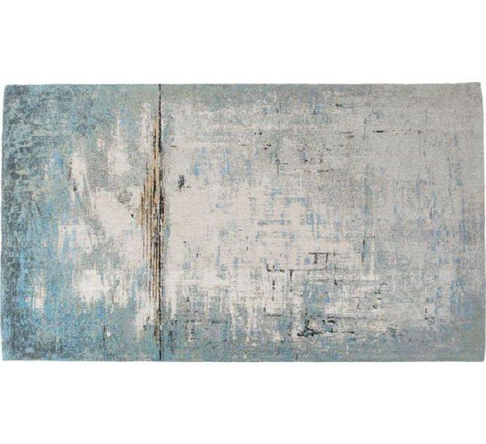 KARE DESIGN Gulvtæppe Abstract Blå 300 x 200 cm