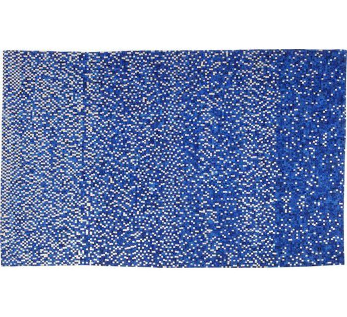 KARE DESIGN Gulvtæppe Pixel Blå 300 x 200 cm