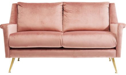 KARE DESIGN Sofa San Diego Rosa 2-personers 145 cm