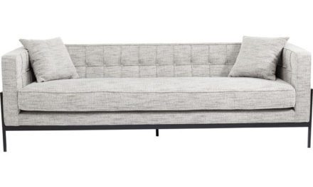 KARE DESIGN Sofa, Loft Salt & Pepper 3-personers