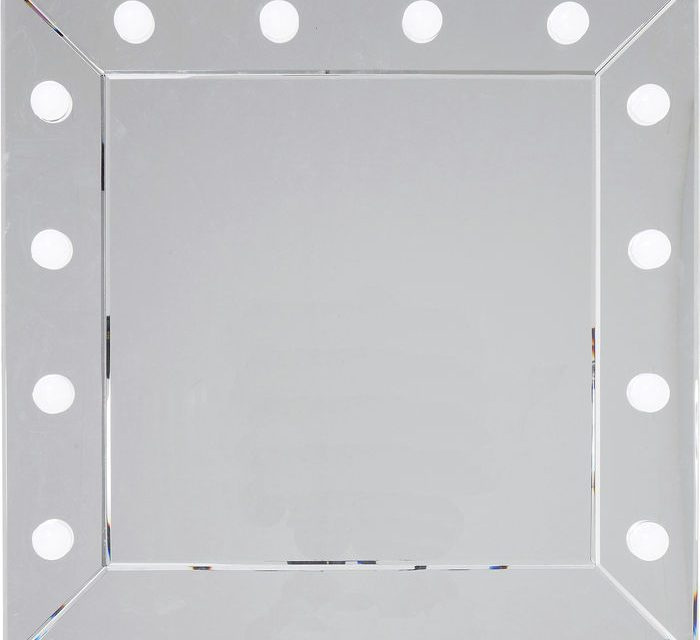 KARE DESIGN Vægspejl Make Up Square 81 x 81 cm