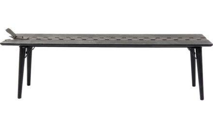KARE DESIGN Zipper Bænk 162 cm