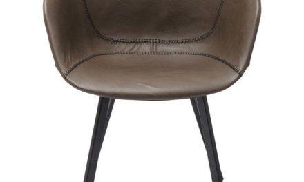 KARE DESIGN Stol med armlæn Lounge – Grå