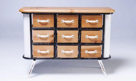 KARE DESIGN Kabinet Grannys Kitchen Mini 9 Skuffer