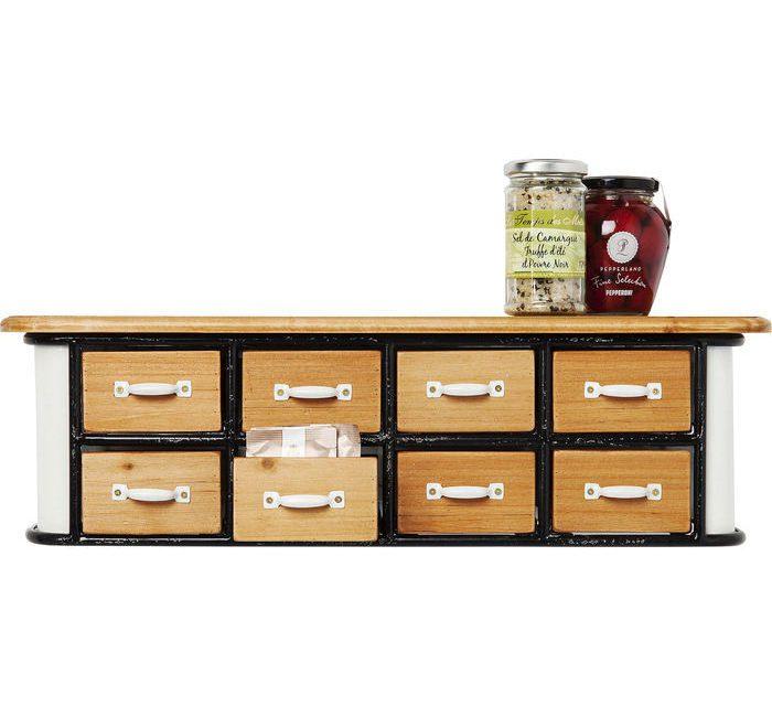 KARE DESIGN Kabinet Grannys Kitchen Mini 8 Skuffer
