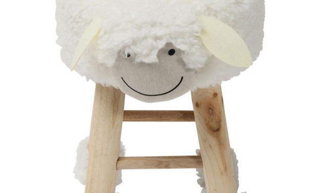 KARE DESIGN Taburet, Funny Sheep
