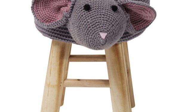 KARE DESIGN Taburet, Funny Mouse